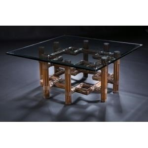"""Sumatra III Sable 36"""" Cocktail Table by C.S. Wo & Sons at C. S. Wo & Sons Hawaii"""