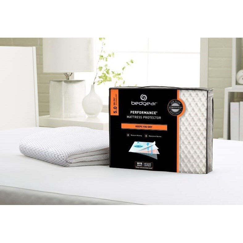 Dri-Tec 5.0 Mattress Pad King Mattress Pad by Bedgear at Darvin Furniture