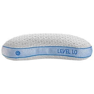 Level 1.0 Stomach Sleeper Performance Pillow - Small Body