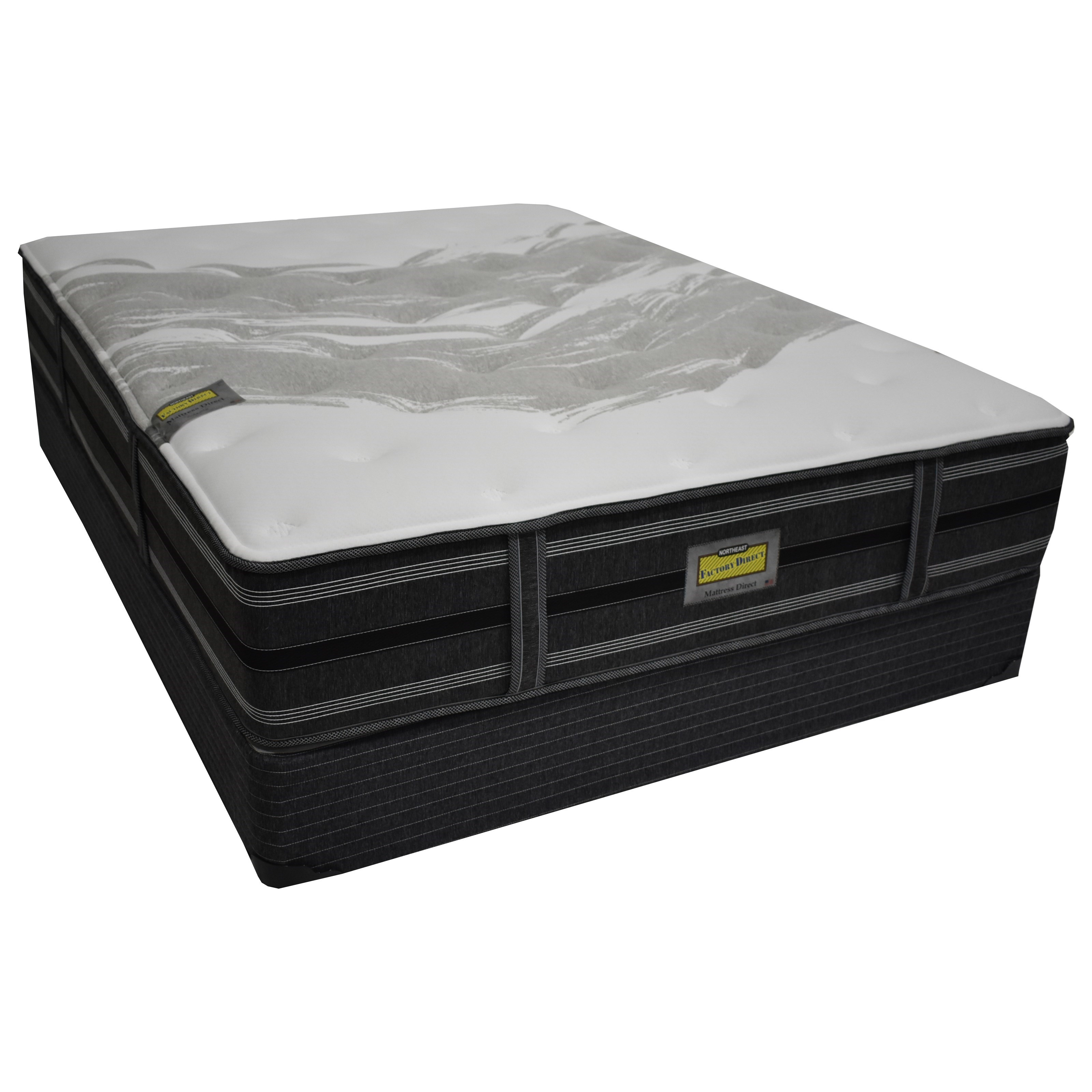 Augusta Plush Full Pocketed Coil Mattress Set by Northeast Factory Direct at Northeast Factory Direct