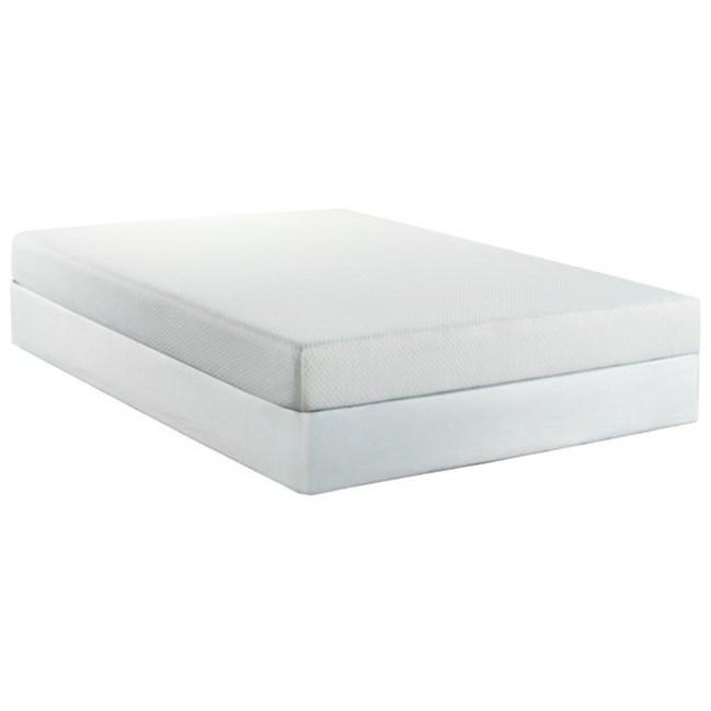 """Chiro Pedic 7 Full 7"""" Memory Foam Mattress Set by BedTech at Pilgrim Furniture City"""