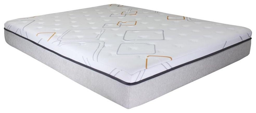 """Felicity 12"""" Hybrid Mattress by BedTech at Dream Home Interiors"""