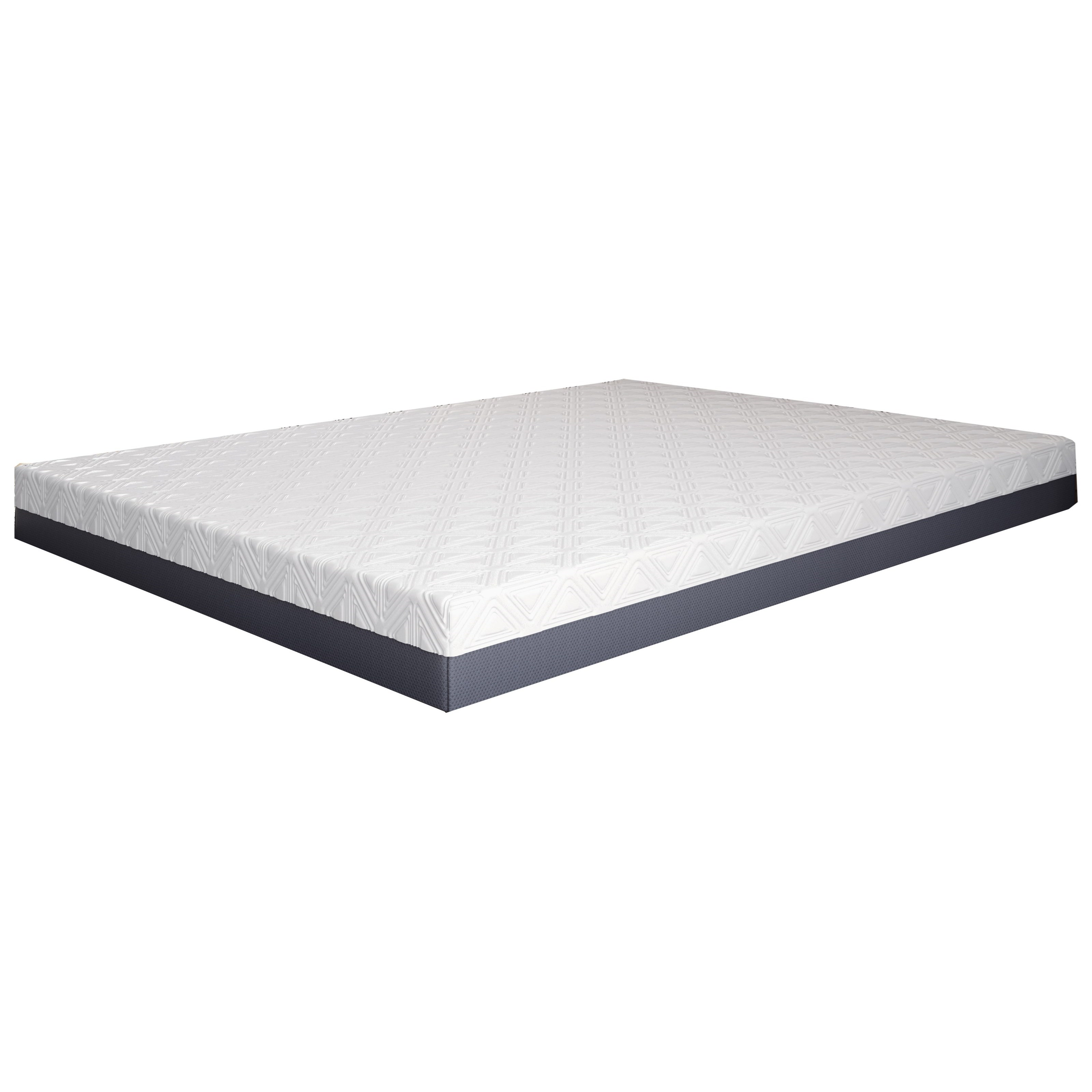 "Pur Gel Ashland 8 Full 8"" Firm Gel Memory Foam Mattress by BedTech at Home Furnishings Direct"