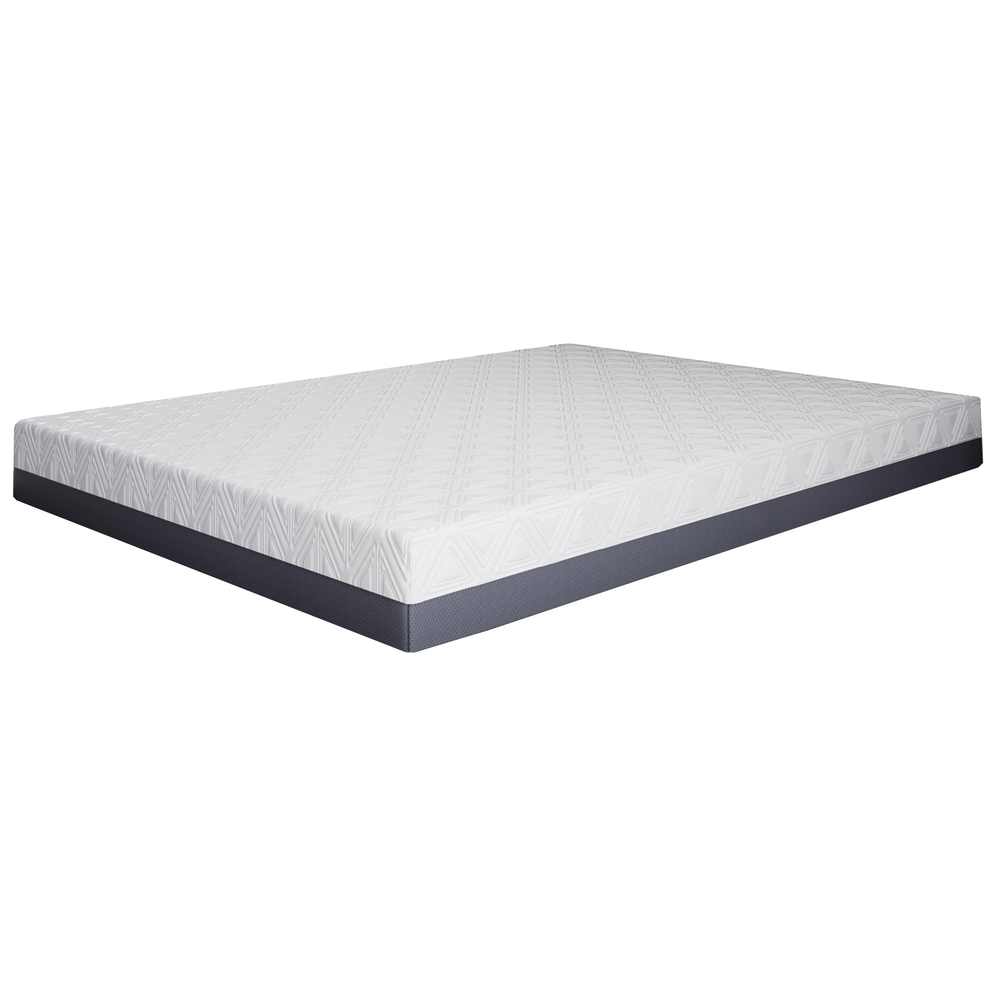 "Pur Gel Colorado 10 Twin 10"" Gel Memory Foam Mattress by BedTech at Sparks HomeStore"