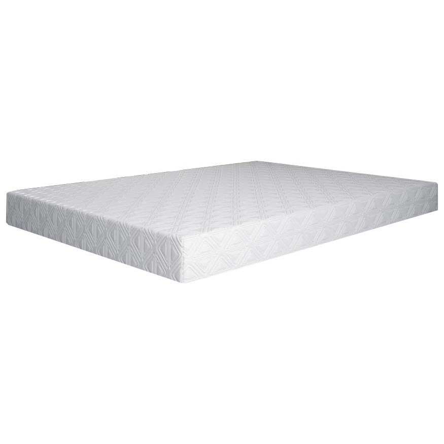 "PurGel Niagra 12 Queen 12"" Soft Gel Memory Foam Mattress by BedTech at Home Furnishings Direct"