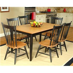 Beechbrook 2040 7-Piece Rectangular Table & Chair Set
