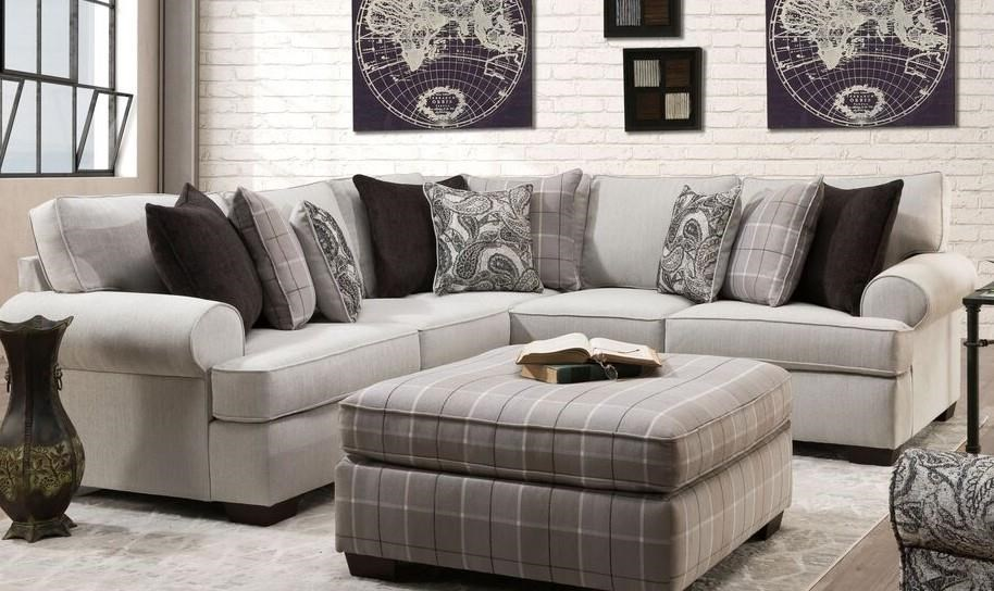 2301 Cooper Alibaster Two Piece Sectional by Behold Home at Furniture Fair - North Carolina