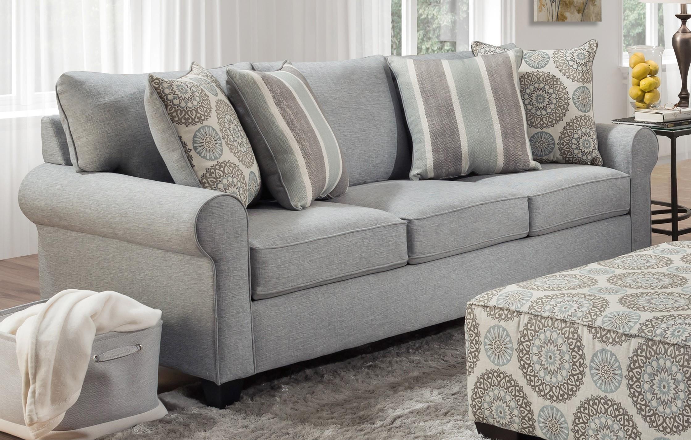 3240 SPA Coastal Spa Sofa by Behold Home at Furniture Fair - North Carolina