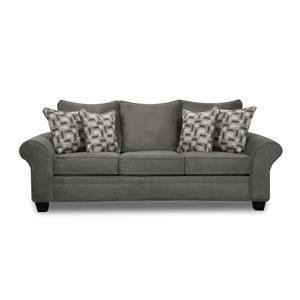 Roll-Arm Sofa