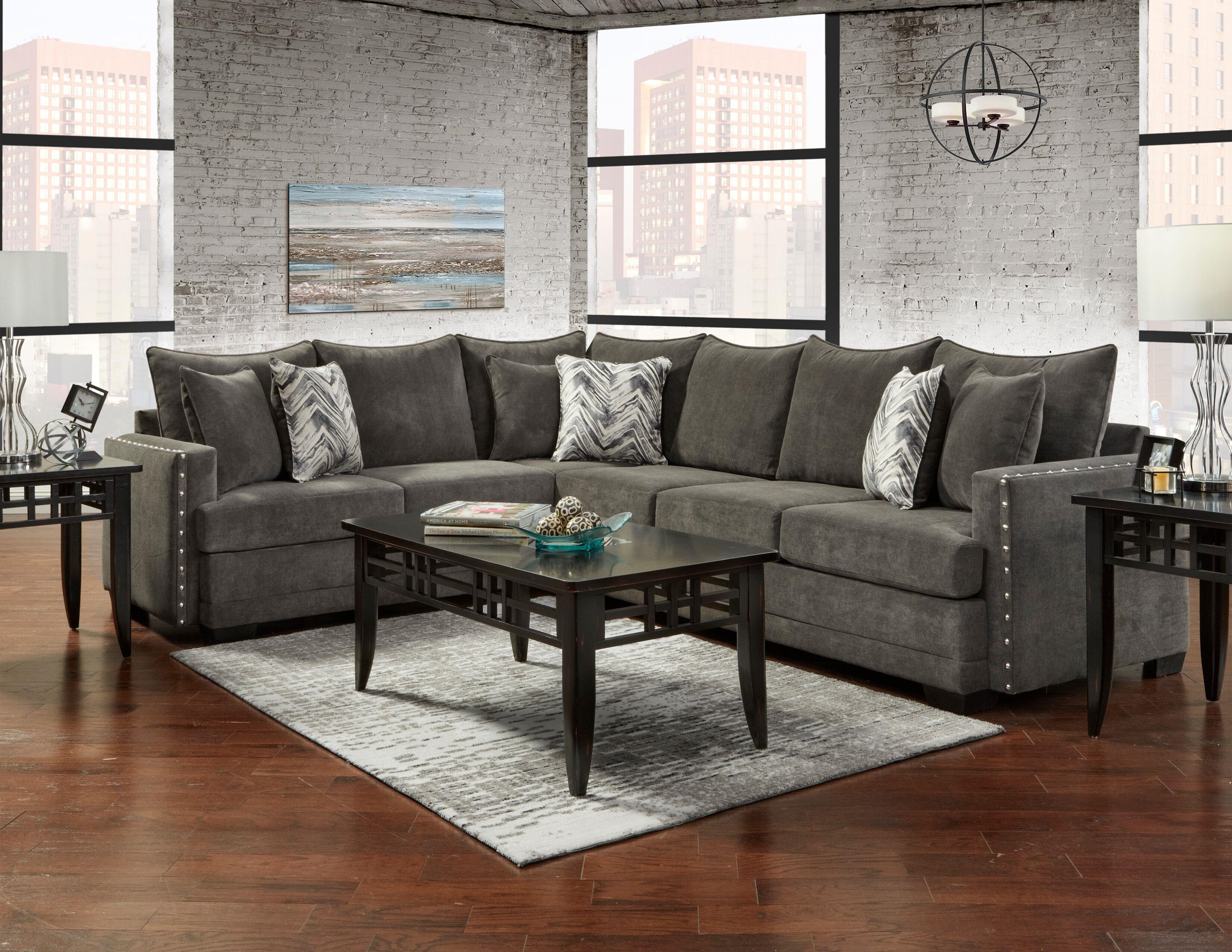 Chevy 2 Piece Sectional by Behold Home at Darvin Furniture