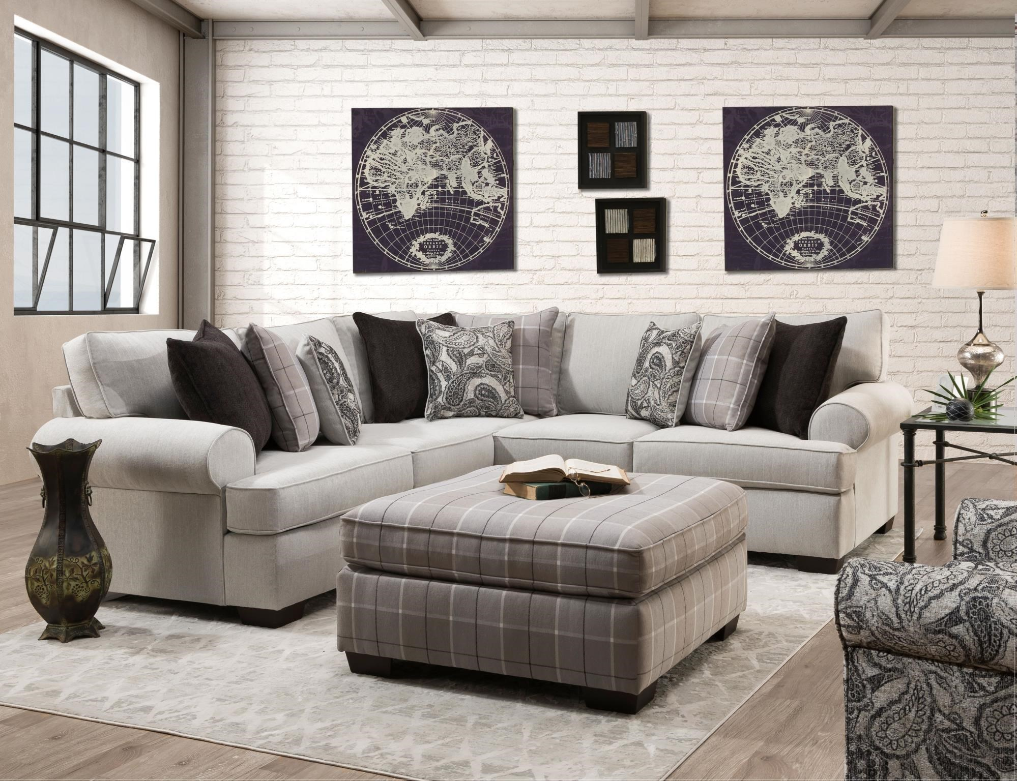 Cooper 2 Piece Sectional by Behold Home at Darvin Furniture