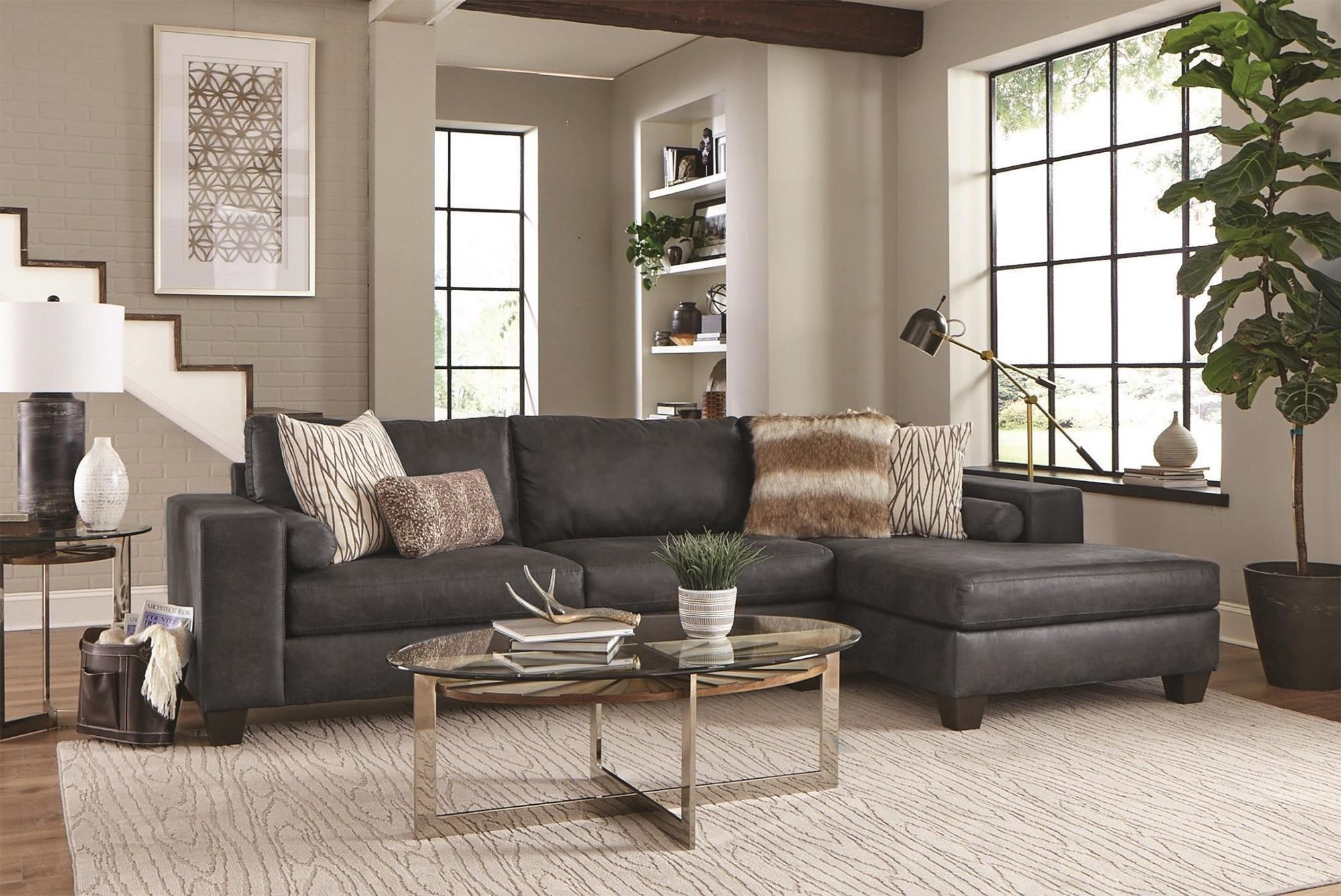 Monty 2PC Chaise Sectional Sofa at Rotmans