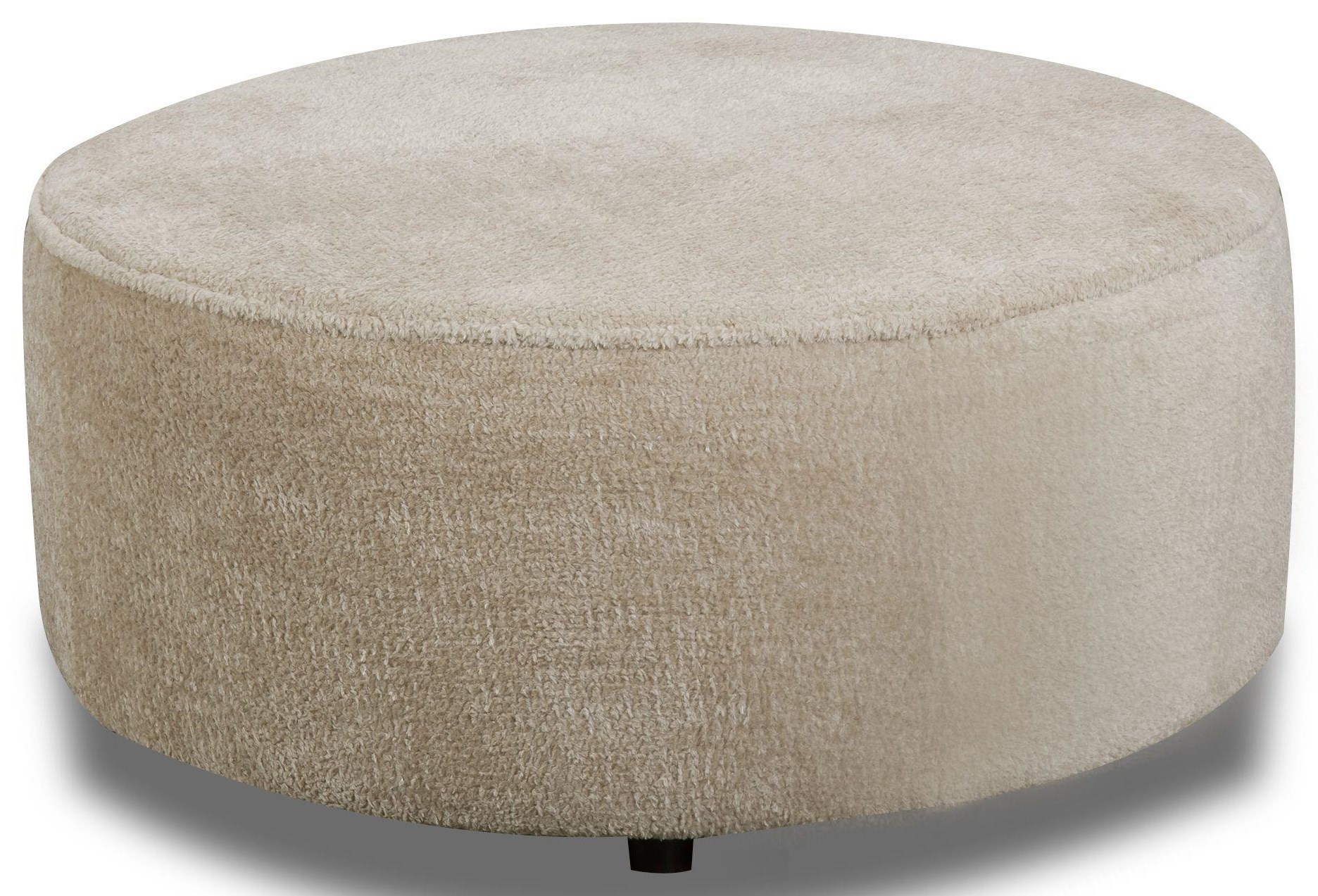 St. Charles Round Ottoman by Behold Home at Darvin Furniture