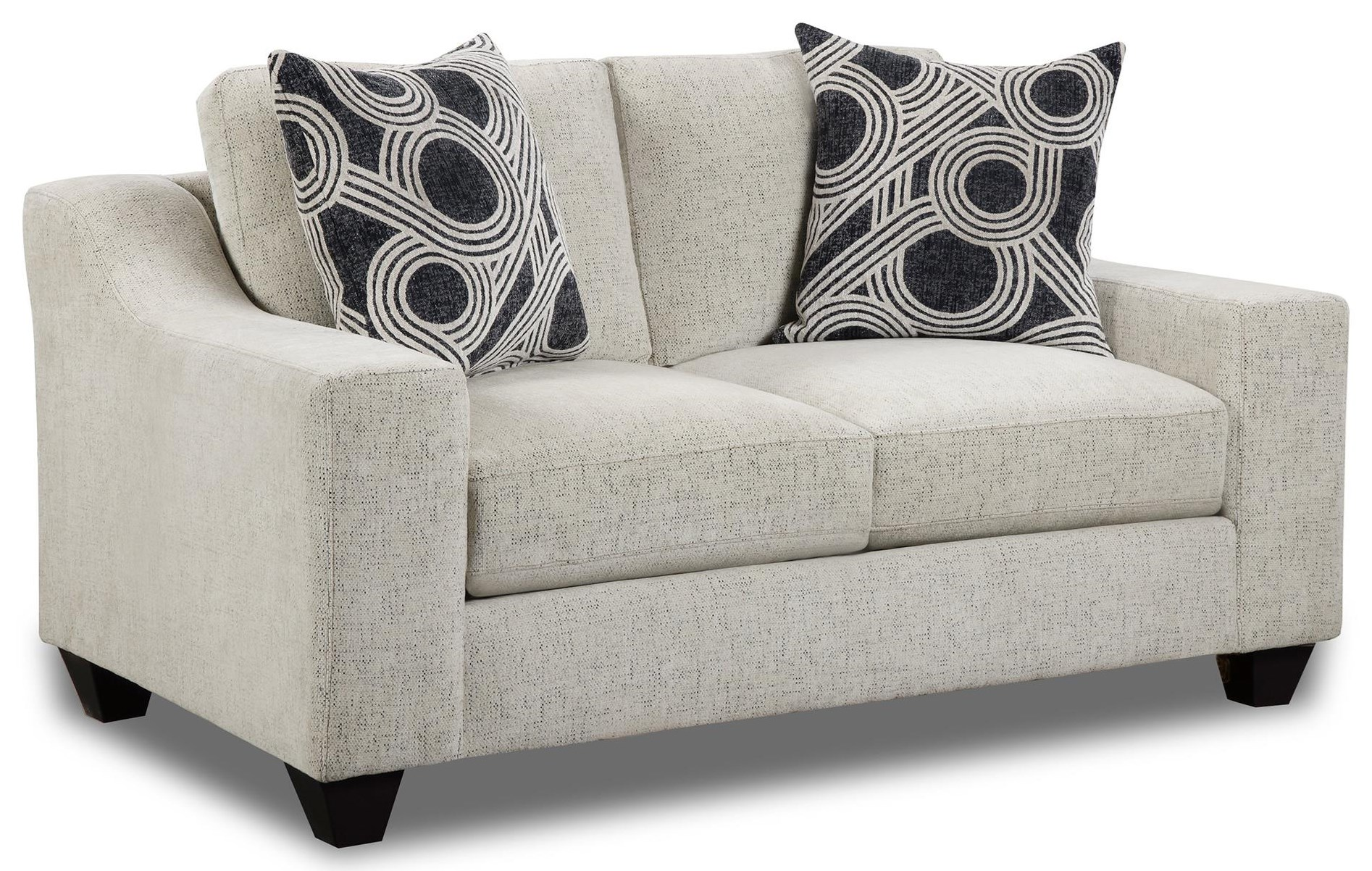 Collins Track Arm Loveseat at Rotmans