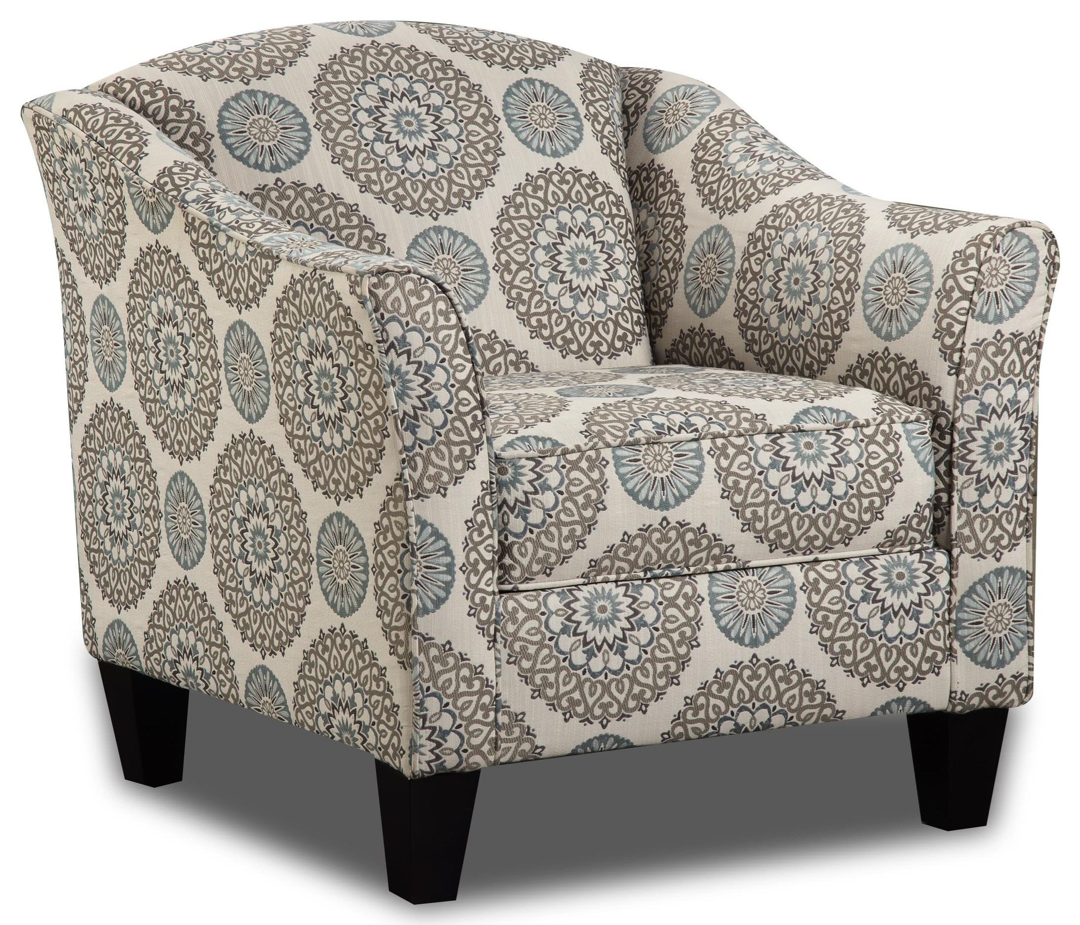 Vivian Accent Chair by Behold Home at Darvin Furniture