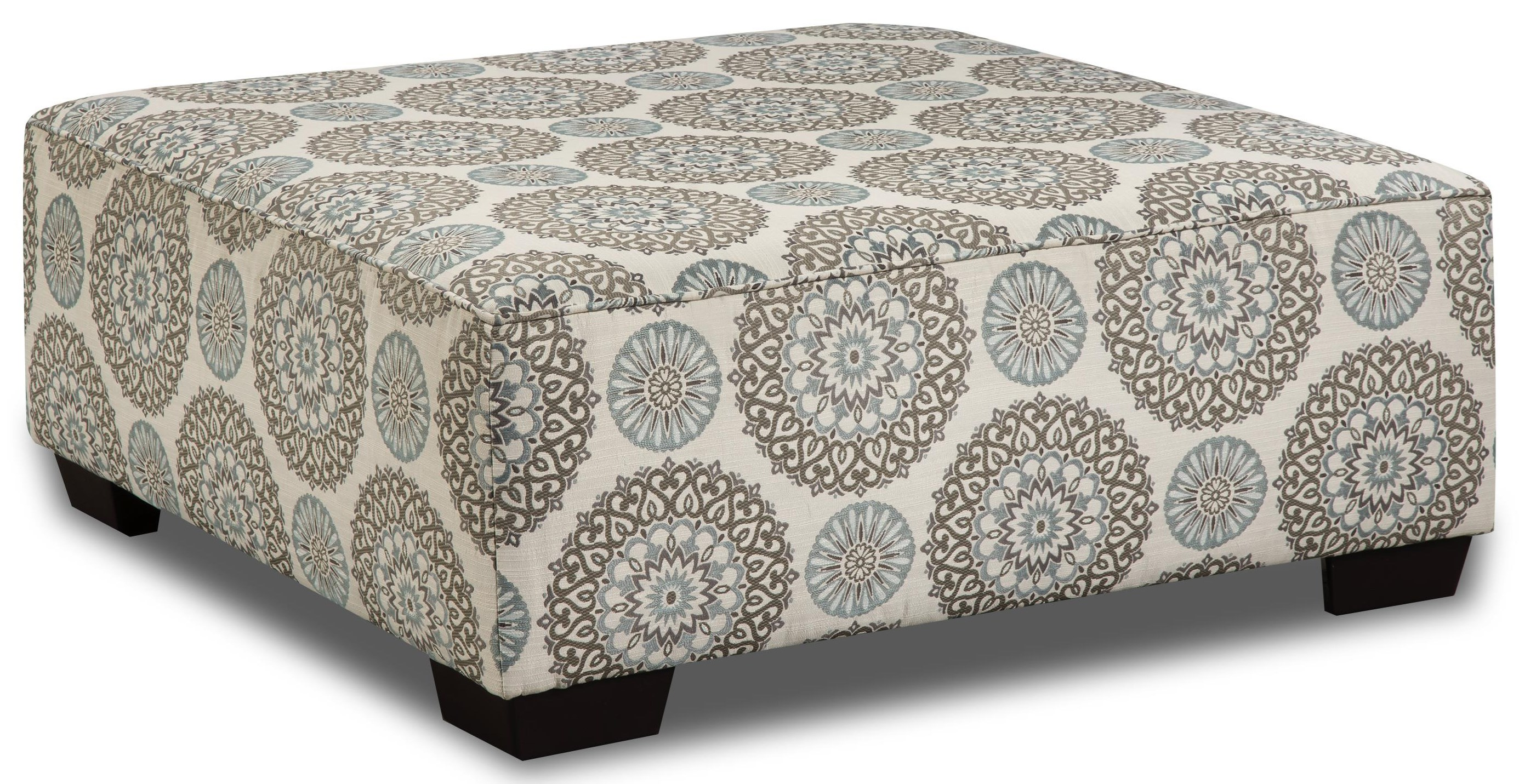 Vivian Cocktail Ottoman by Behold Home at Darvin Furniture
