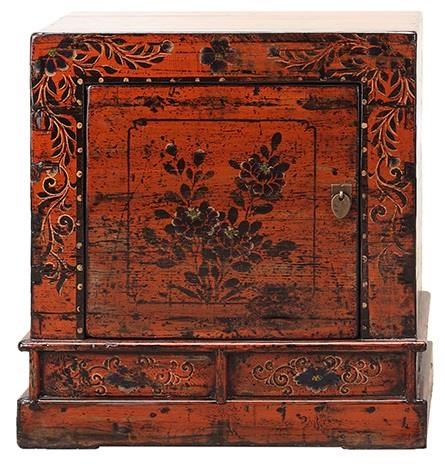 Antiques Bedside Cabinet by C.S. Wo & Sons at C. S. Wo & Sons Hawaii