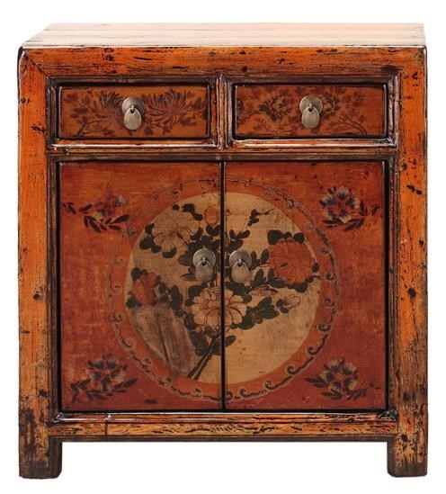 Antiques 5 Door Cabinet by C.S. Wo & Sons at C. S. Wo & Sons Hawaii