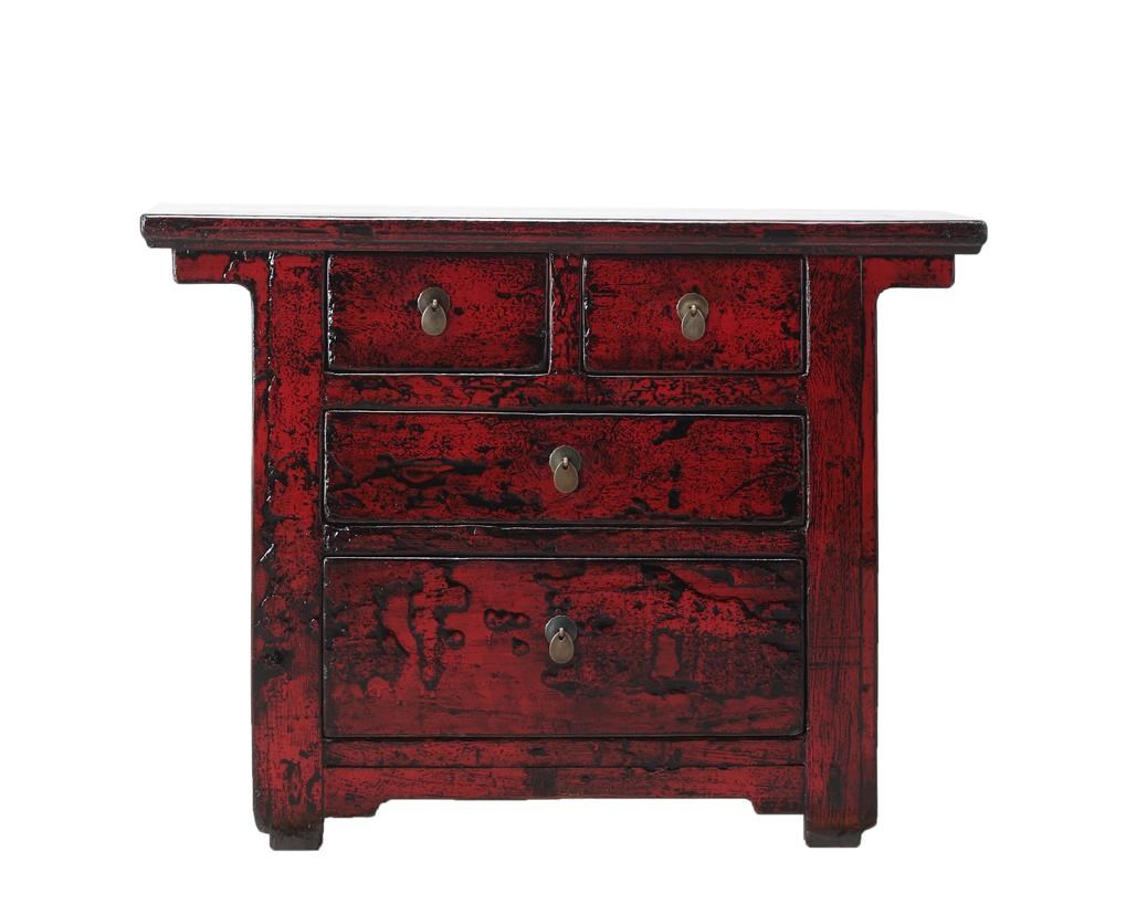 Antiques 3 Drawer Cabinet by C.S. Wo & Sons at C. S. Wo & Sons Hawaii