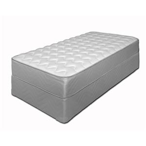 "King Firm 11"" Mattress and Foundation"