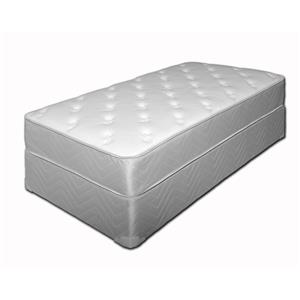 "King Plush 11"" Mattress and Foundation"