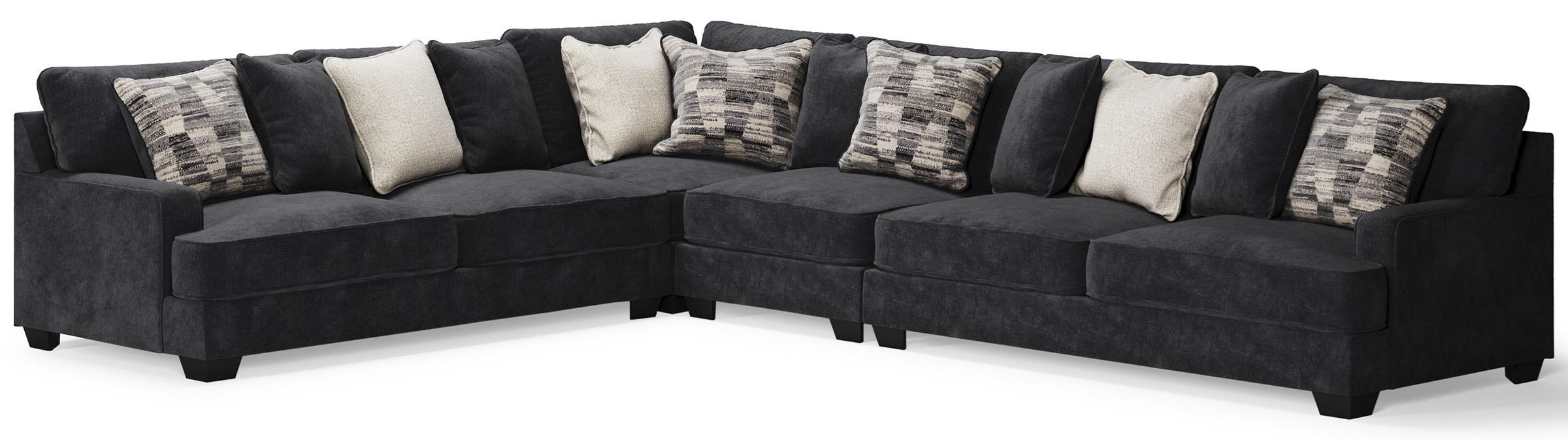 47501 Sectional at Sadler's Home Furnishings