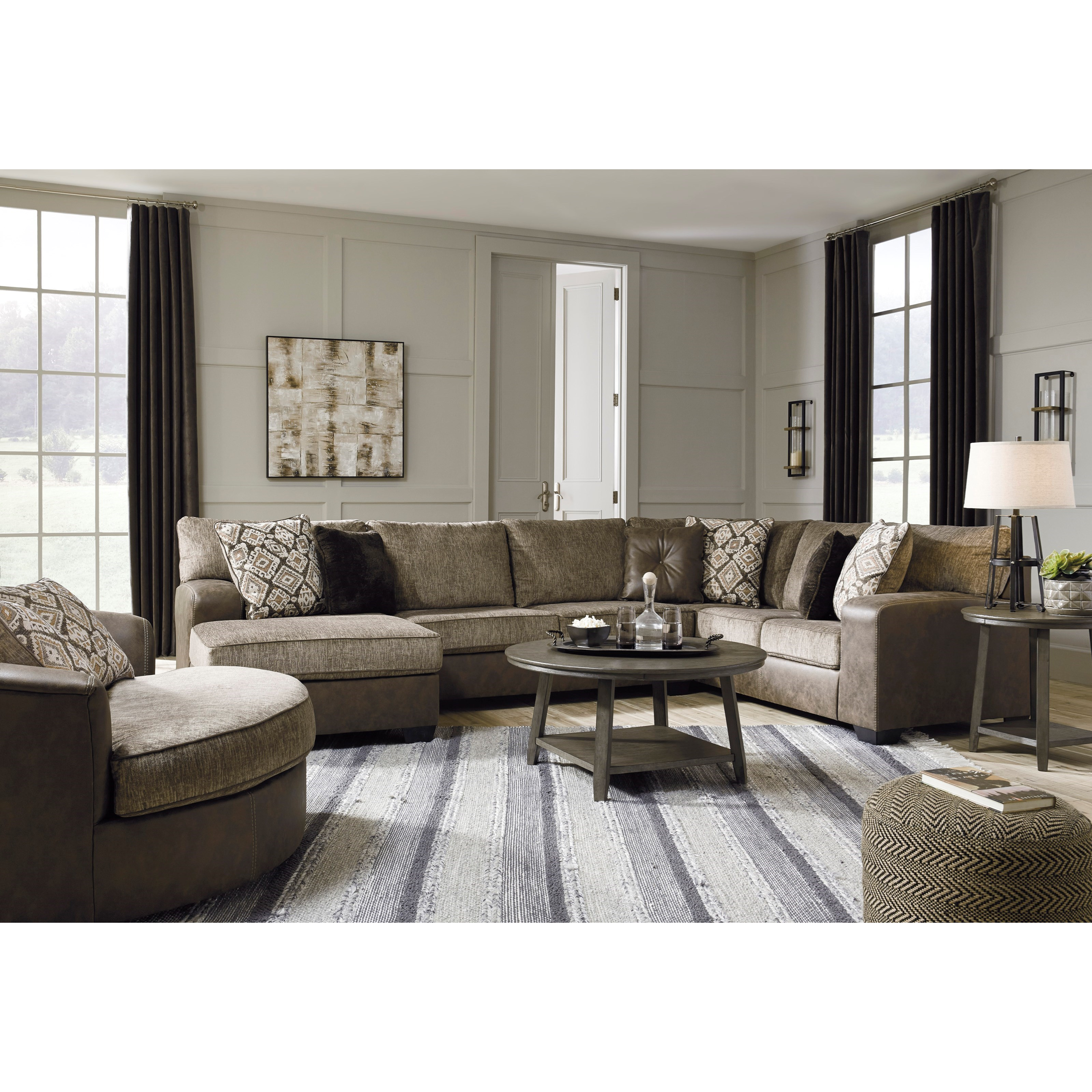 Abalone Living Room Group by Benchcraft at Catalog Outlet