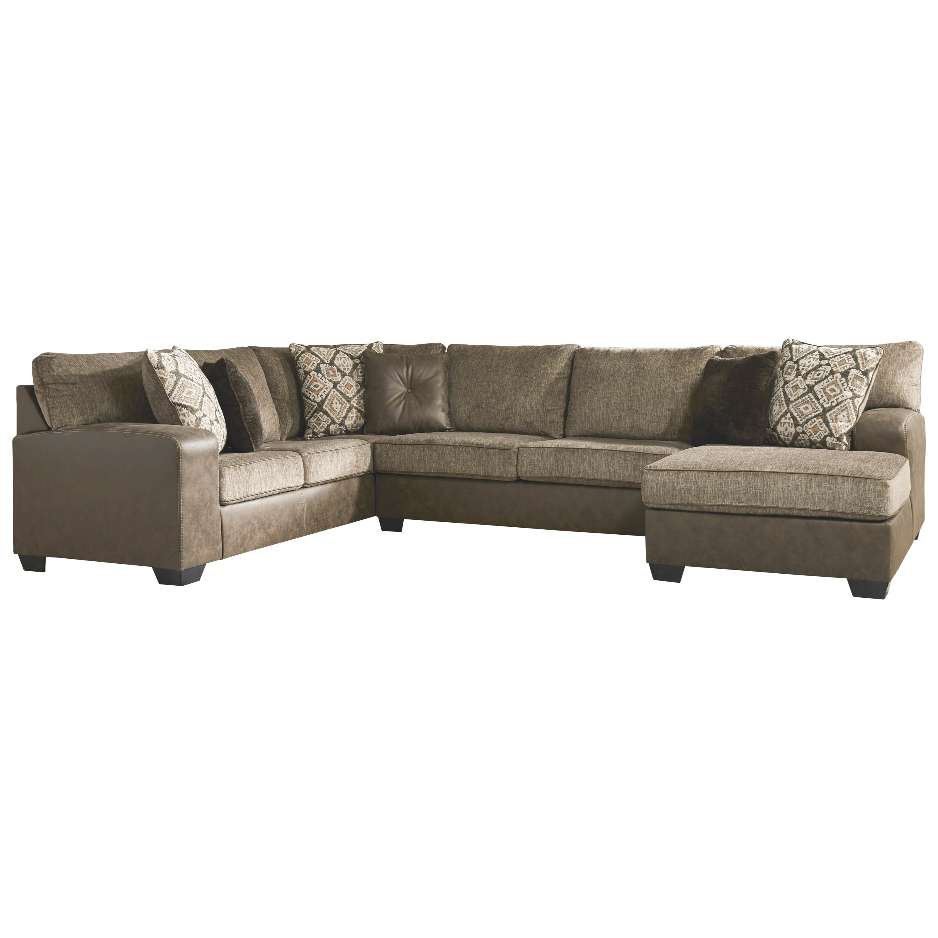 Abalone 3-Piece Sectional by Benchcraft at Beds N Stuff