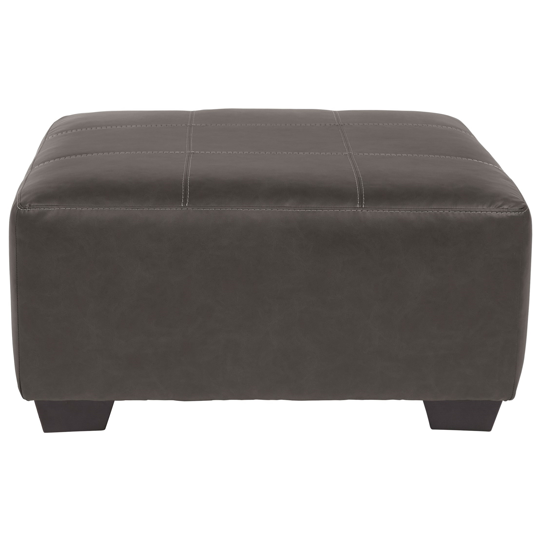 Aberton Oversized Accent Ottoman by Benchcraft at Rooms and Rest