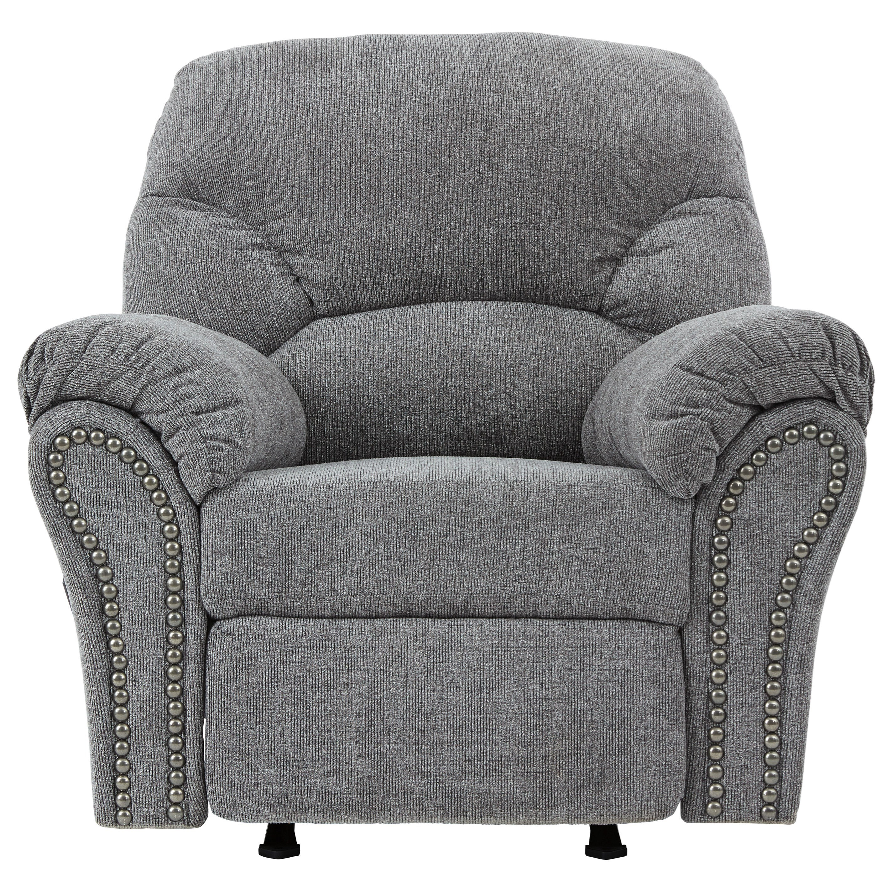 Allmaxx Rocker Recliner by Benchcraft at Van Hill Furniture