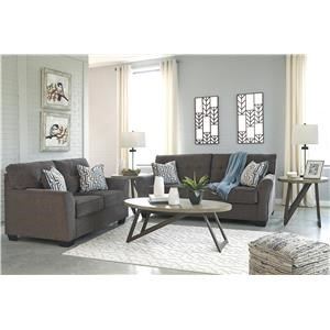 Granite Sofa and Loveseat Set