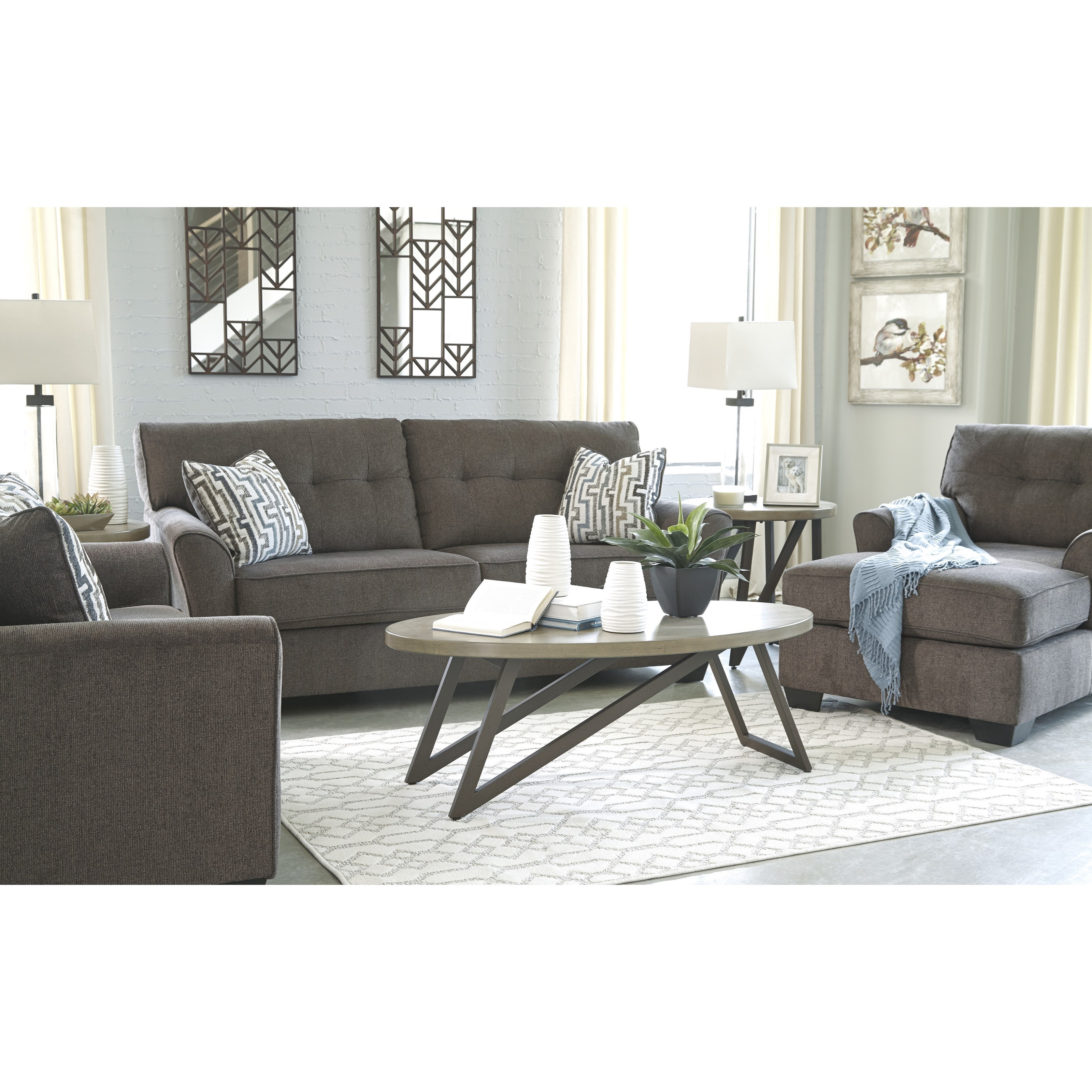 Alsen Stationary Living Room Group by Benchcraft at Simply Home by Lindy's