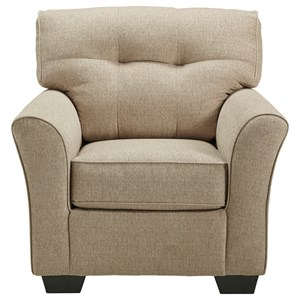 Casual Chair with Tufted Back