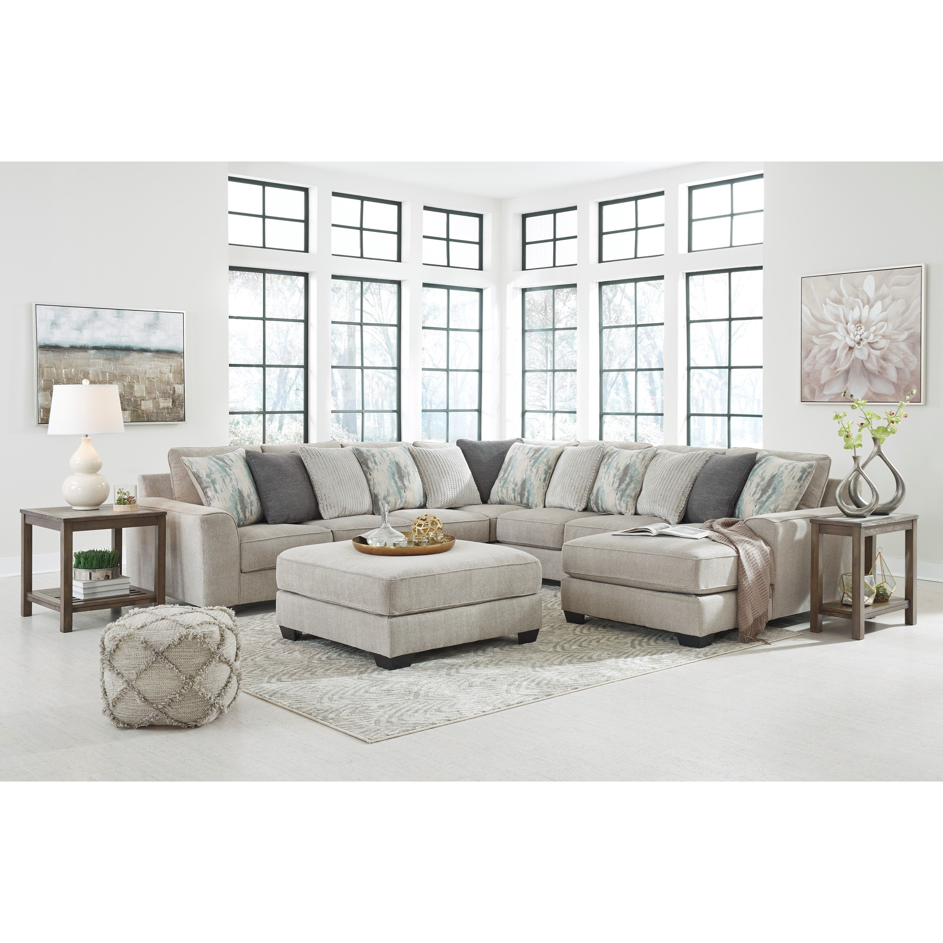 Ardsley Stationary Living Room Group by Benchcraft at Walker's Furniture