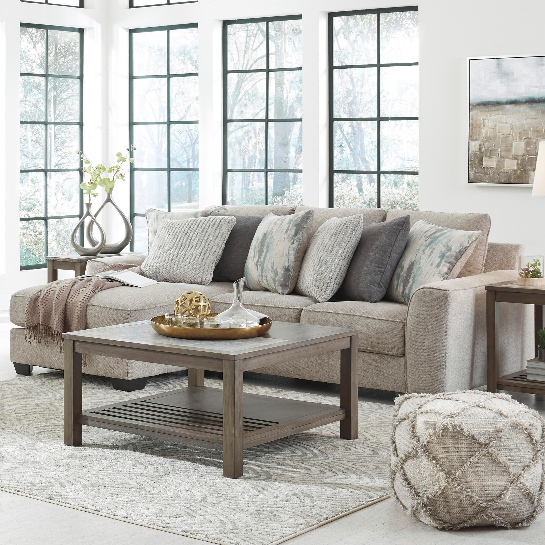 Ardsley 2-Piece Sectional with Left Chaise by Benchcraft at Fisher Home Furnishings