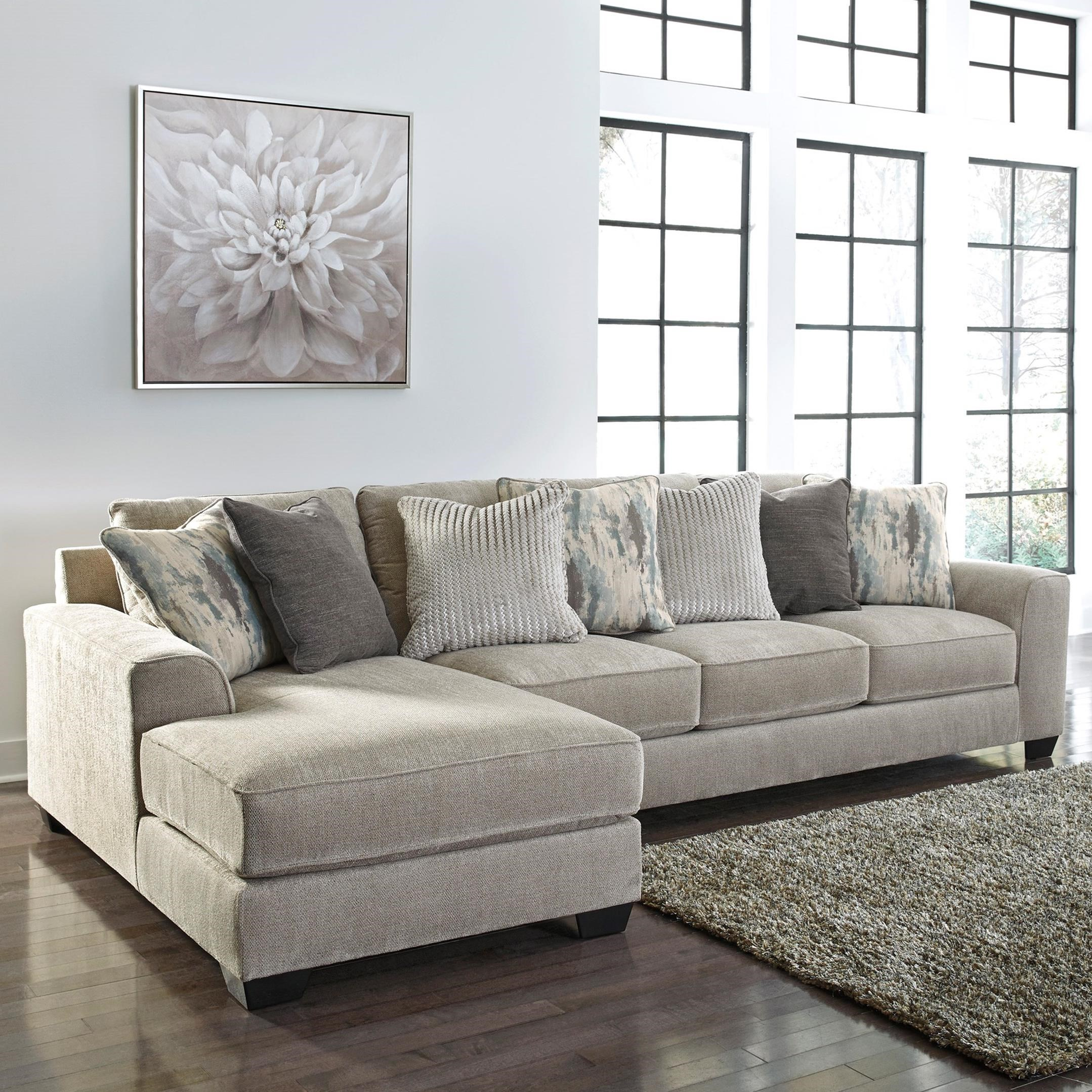 Ardsley 2-Piece Sectional with Left Chaise by Benchcraft at Simply Home by Lindy's