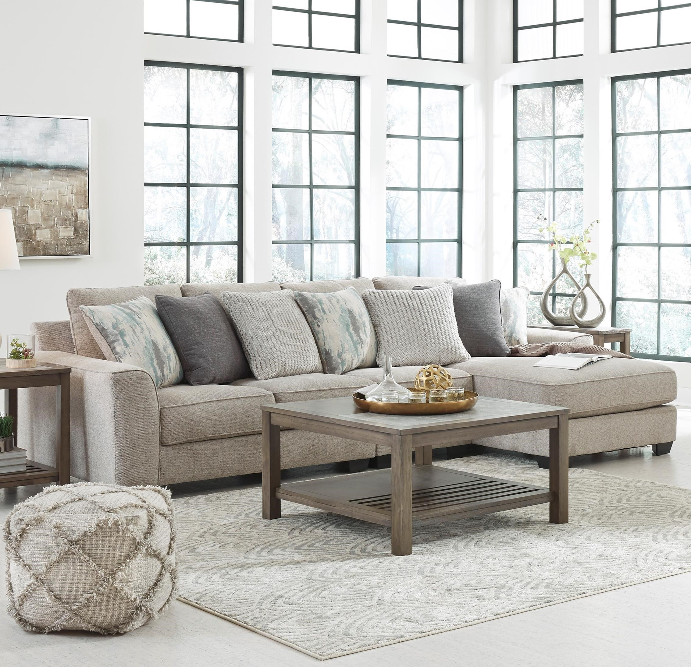 Ardsley 3-Piece Sectional with Right Chaise by Benchcraft at Simply Home by Lindy's