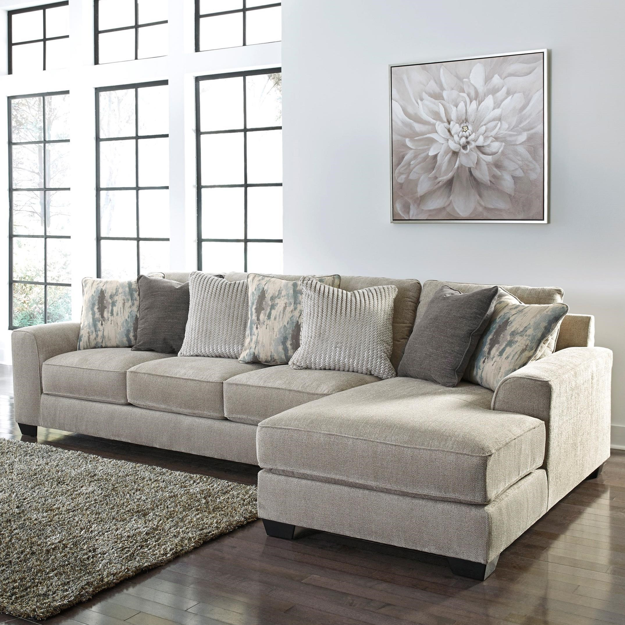 Ardsley 2-Piece Sectional with Right Chaise by Benchcraft at Fisher Home Furnishings