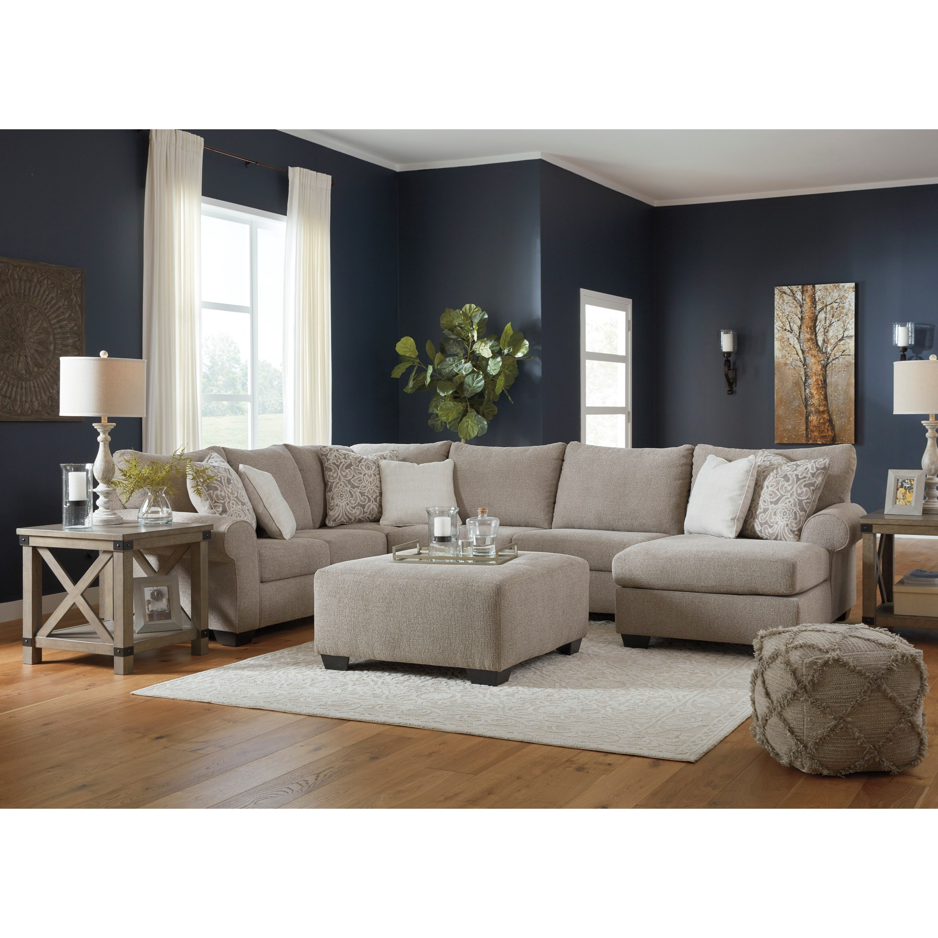Baranello Stationary Living Room Group by Benchcraft at Rife's Home Furniture