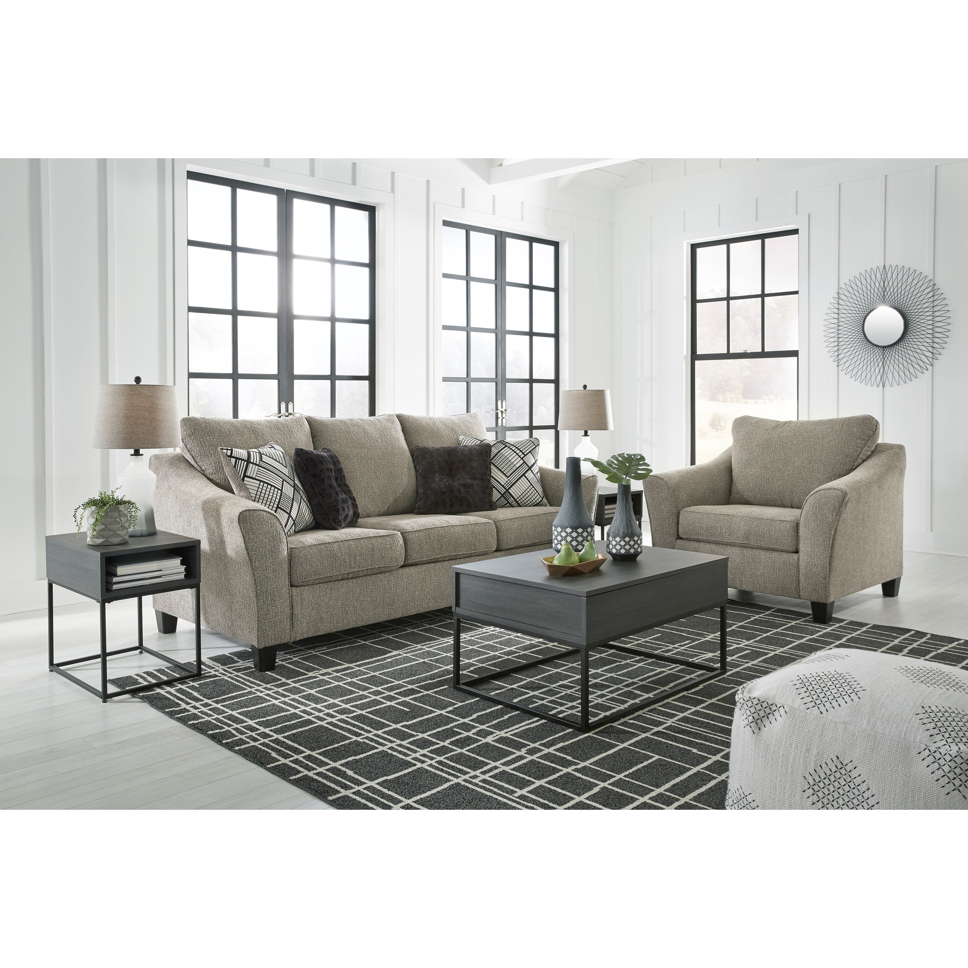 Barnesley Living Room Group by Benchcraft at Furniture Superstore - Rochester, MN
