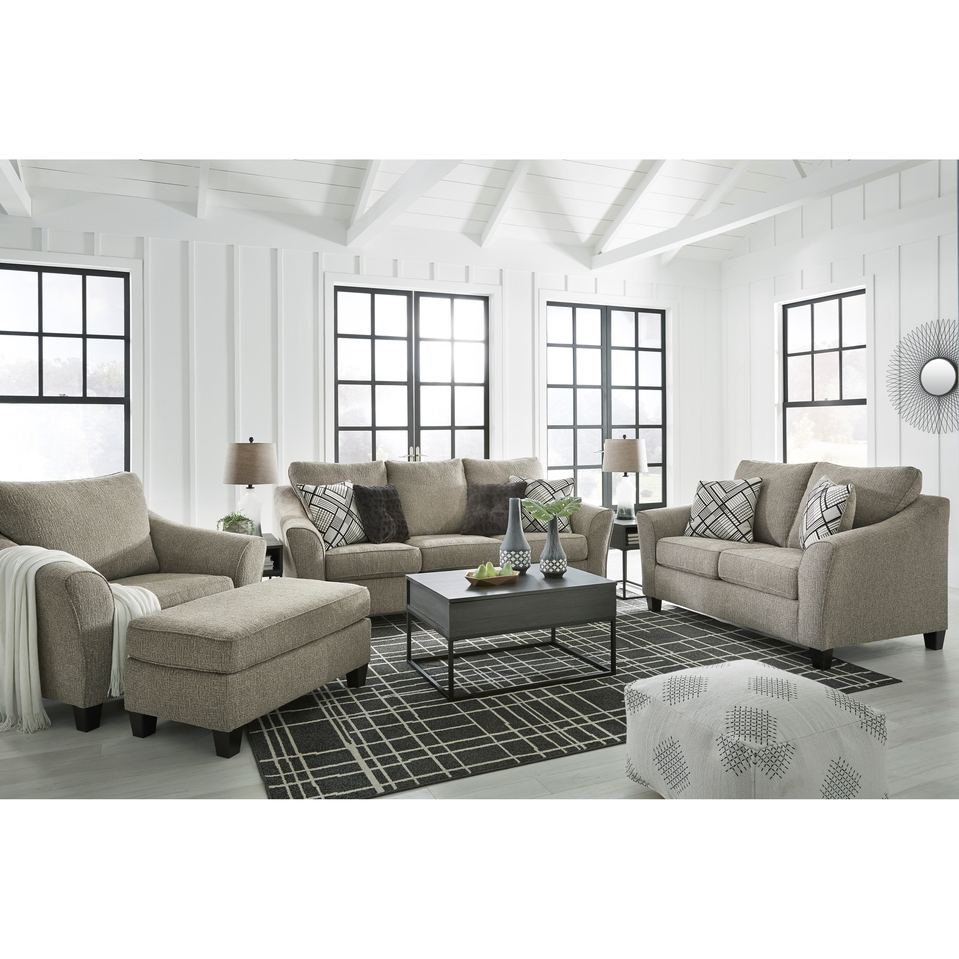 Barnesley Living Room Group by Benchcraft at Rife's Home Furniture