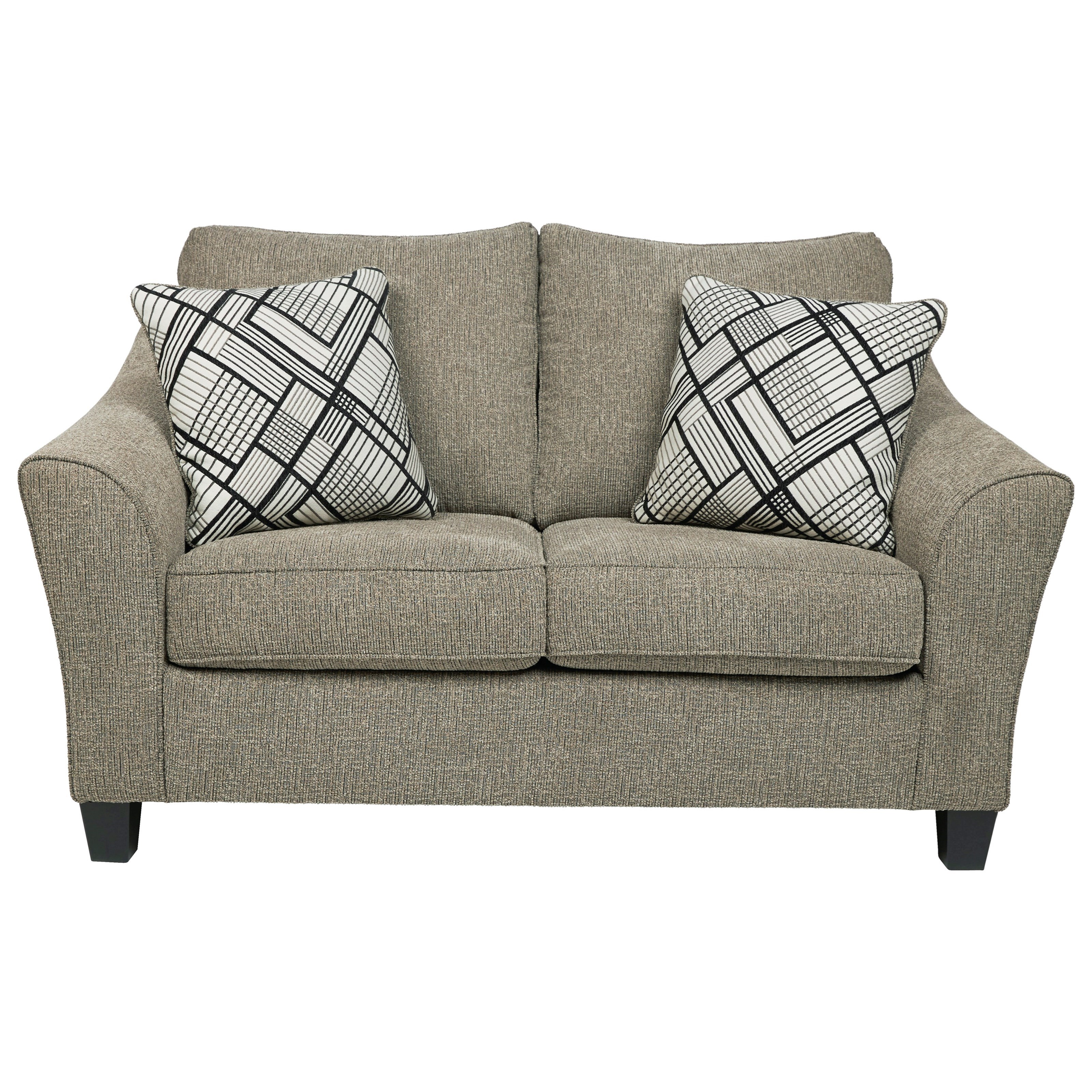 Barnesley Loveseat by Benchcraft at Beck's Furniture