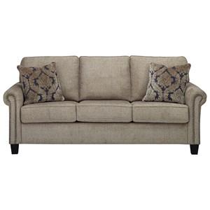 Transitional Sofa with Nailhead Trim