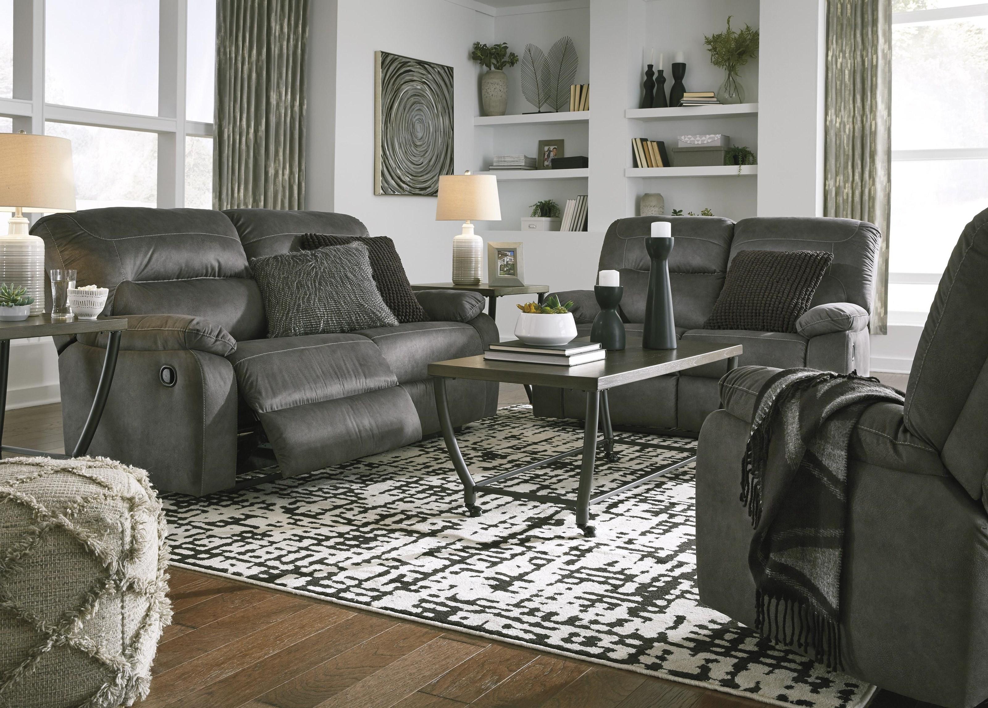 Bolzano Recliner Sofa and Recliner Set by Benchcraft at Sam Levitz Furniture