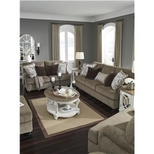 Brown Sofa, Loveseat and Chair Set