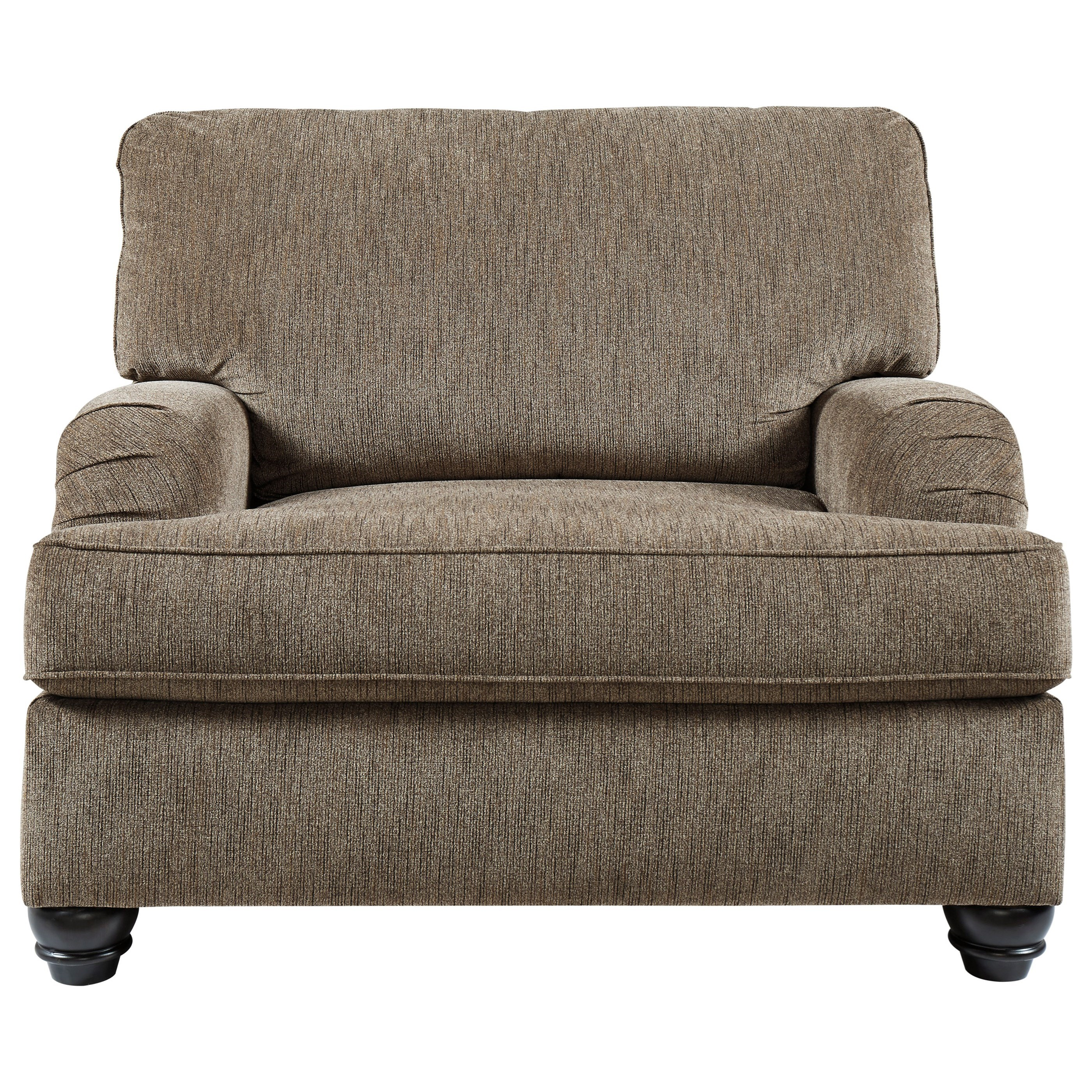 Braemar Chair and a Half by Benchcraft at Beck's Furniture