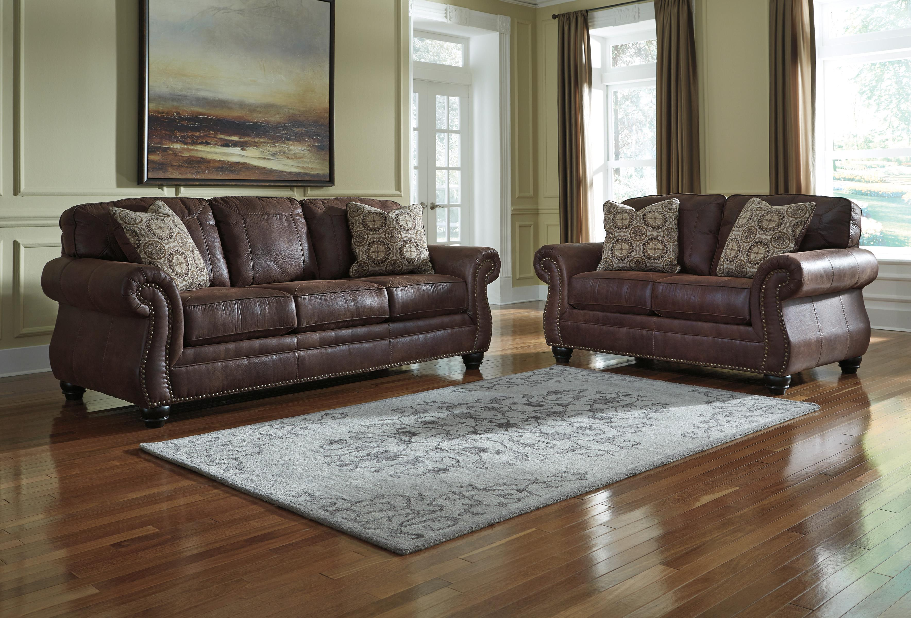 Breville Stationary Living Room Group by Benchcraft at Furniture Barn