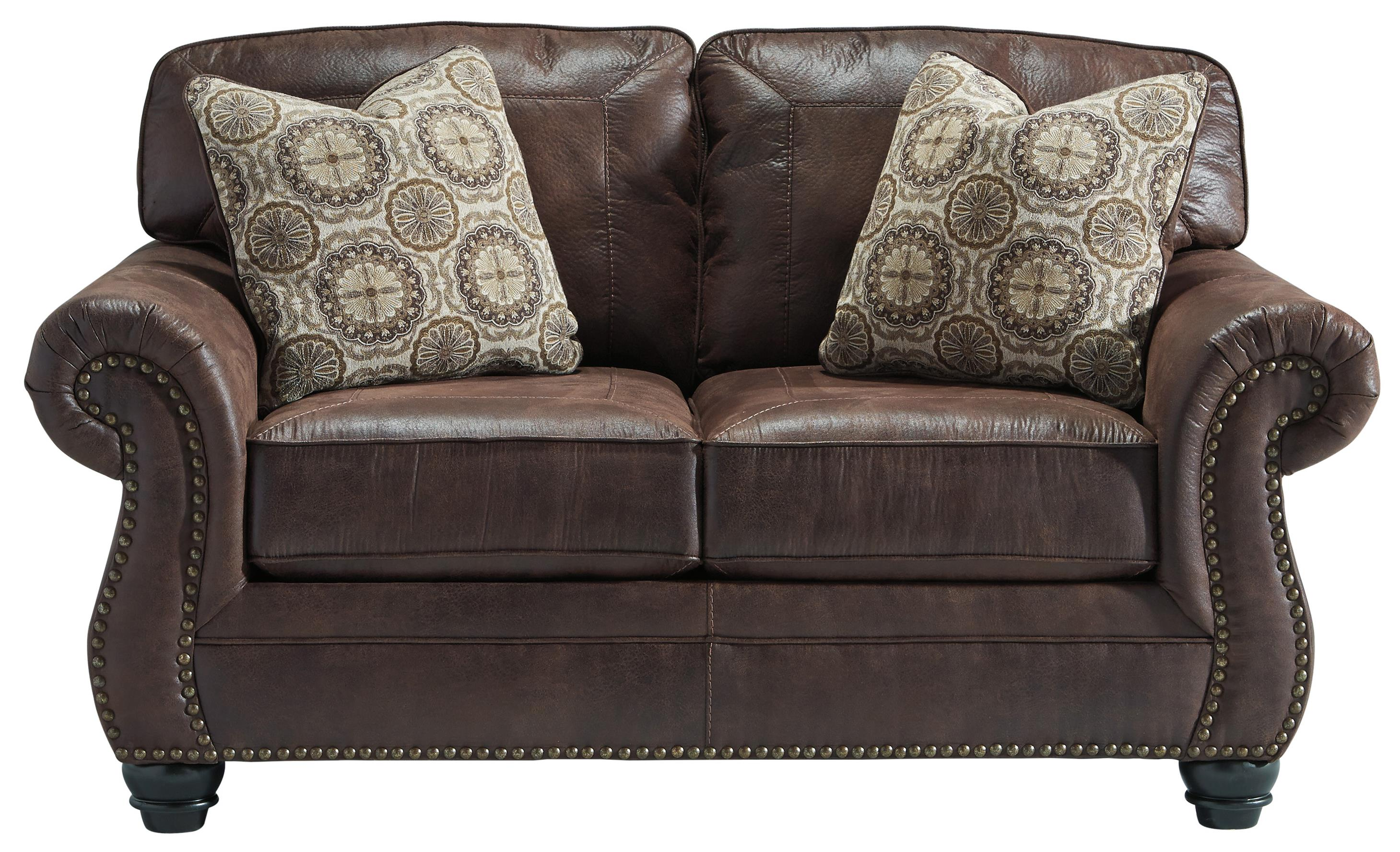 Breville Loveseat by Benchcraft at Simply Home by Lindy's