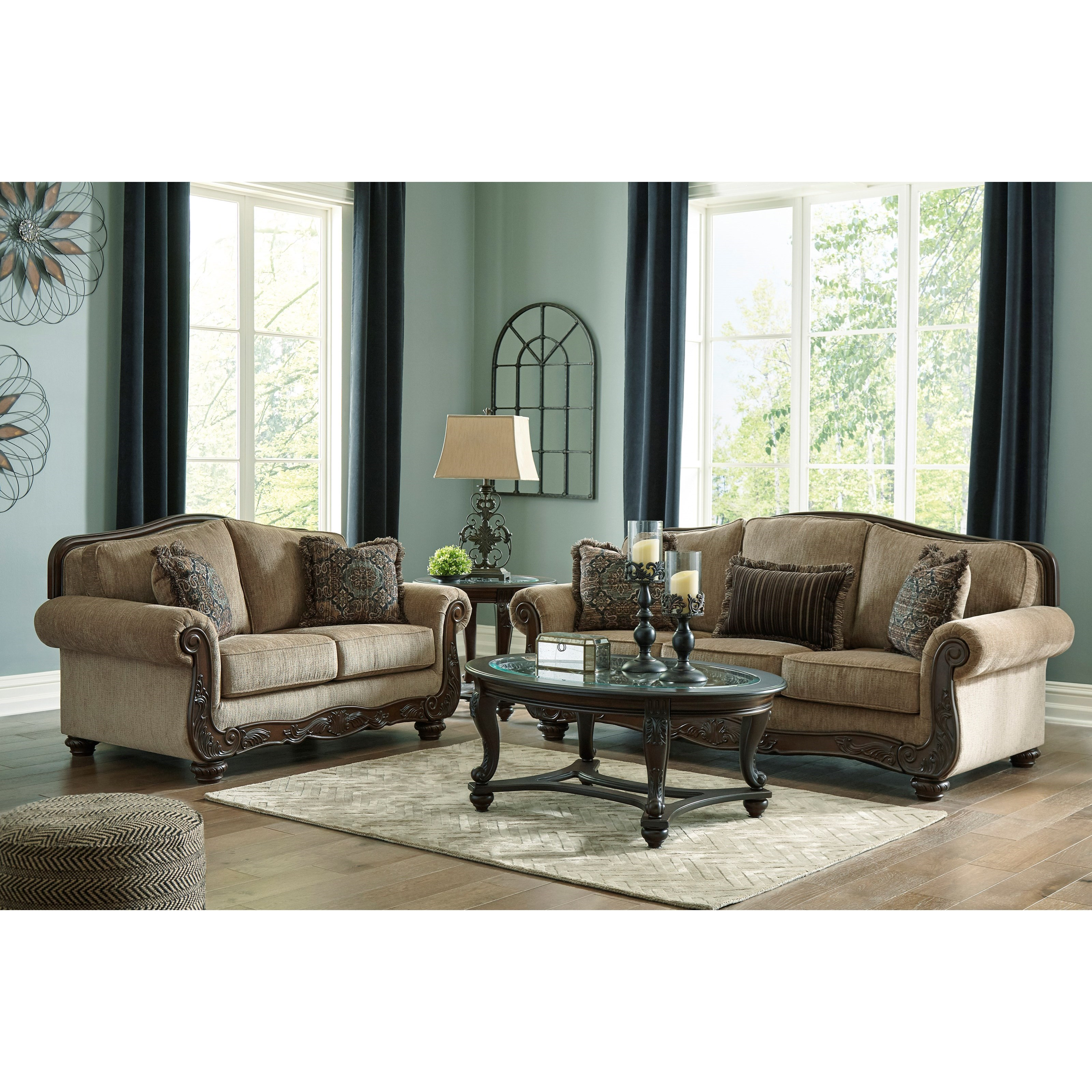Briaroaks Living Room Group by Benchcraft at Miller Waldrop Furniture and Decor