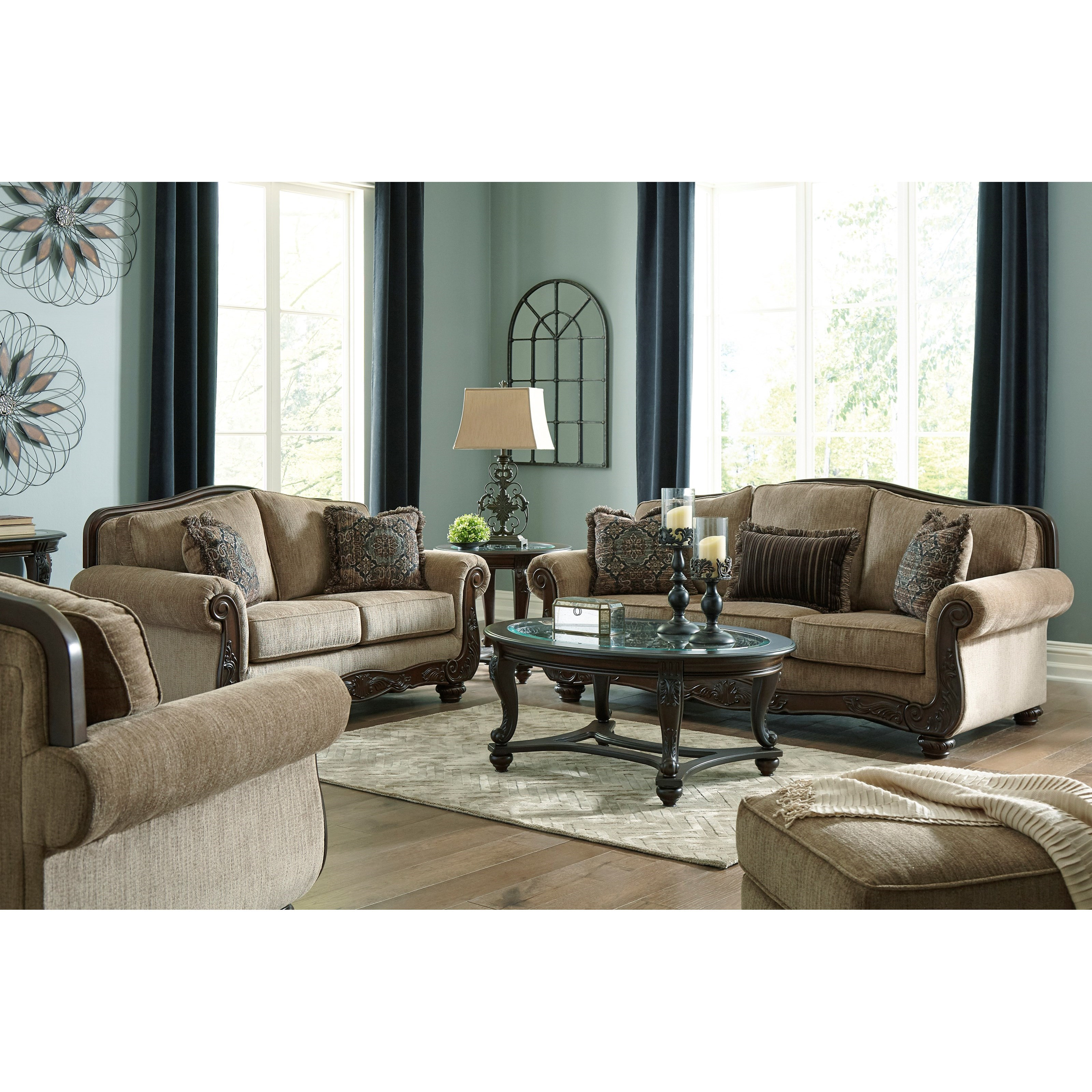 Briaroaks Living Room Group by Benchcraft at Zak's Warehouse Clearance Center